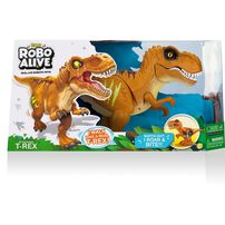 Robo Alive Attacking T-Rex - Assorted