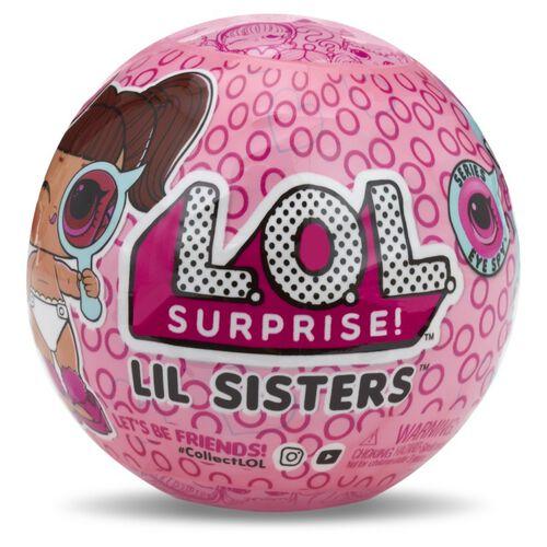 L.O.L. Surprise! Eye Spy Series Bundle Pack with Underwraps + Lil Sis