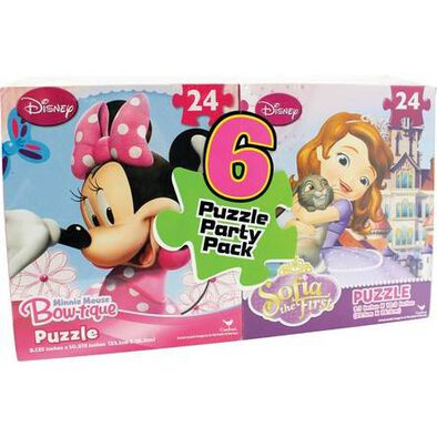 Disney Promo Puzzle 6 Pieces Bundle - Assorted