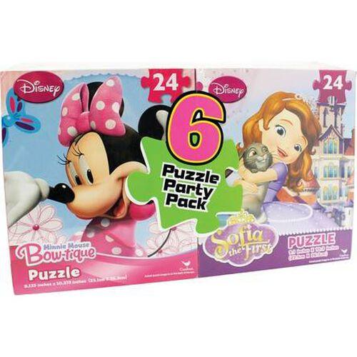 Disney Promo Puzzle 6 Pieces Bundle - Assorted