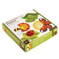 Petit Collage Beginner Puzzle Garden Bugs