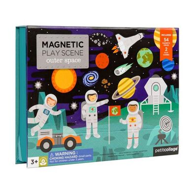 Petit Collage Mps Outer Space Magnetic Play Scene