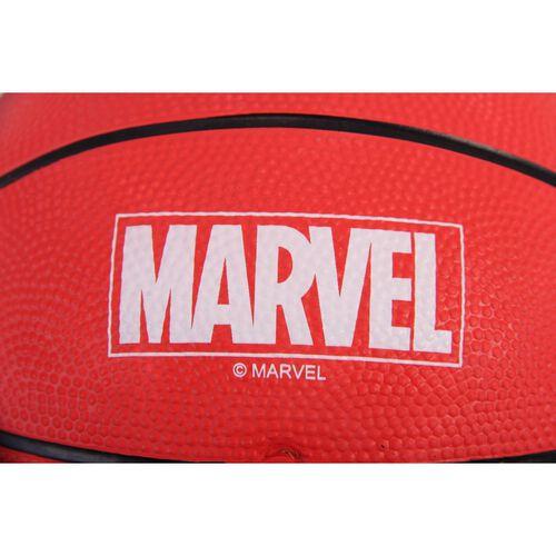 Marvel Spiderman Rubber Basket Ball Size 3