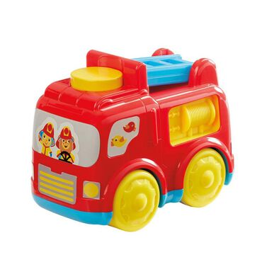 BRU Push N Go Rescue Vehicle - Assorted