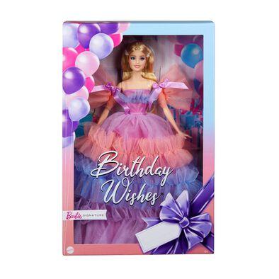 Barbie Signature Birthday Wishes Doll