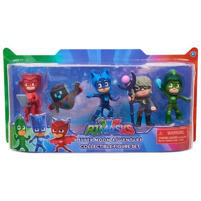 PJ Masks Super Moon Adventure Collectible Figure Set