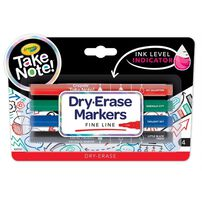 Crayola Take Note Dry Erase Marker