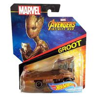 Hot Wheels Marvel Avengers Character Car - Assorted