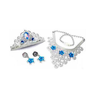 Disney Princess Cinderella Tiara & Jewelry Set