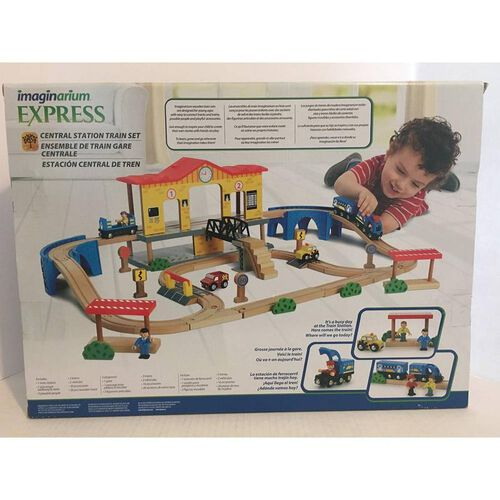 Universe of Imagination Express 52 Piece Central Station Train Set