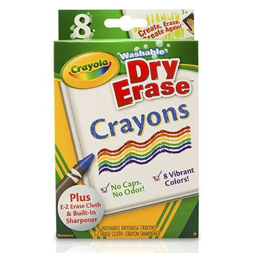 Crayola 8 Washable Dry-Erase Crayons