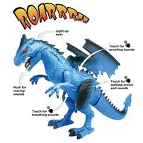 Mighty Megasaur Battery Operated Interactive Walking Dragon
