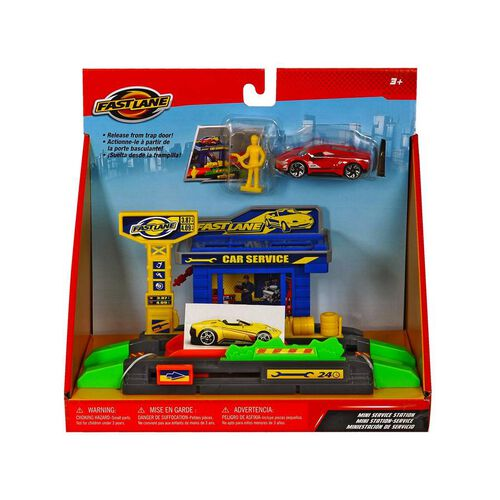 Fast Lane Mini Service Playset