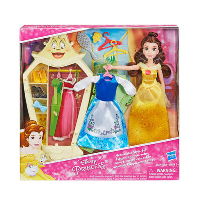 Disney Princess Belle's Wardrobe Style Set