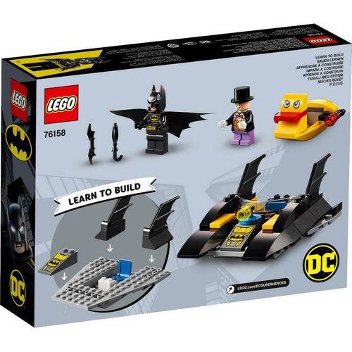 LEGO DC Comics Super Heroes Batboat The Penguin Pursuit 76158