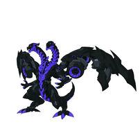 Bakugan Baku-004 BC Ball 6D Db Headed Dragon Black