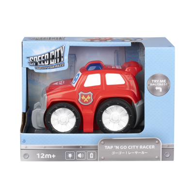 Speed City Junior TAP 'N GO CITY RACER - RED