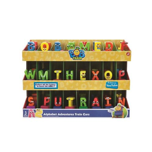 Bob The Train Mini Letter Vehicles - Assorted