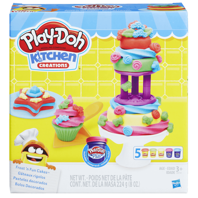 Play-Doh Frost N Fun' Cake Set