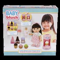Baby Blush Little Bella's Ice Cream Party Doll Set