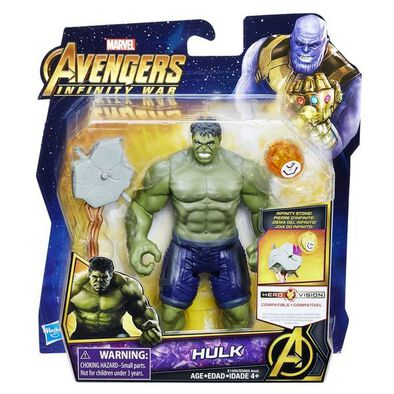 "Marvel Avn 6"" Dlx Figs W Stone N Accessory - Assorted"