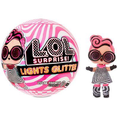 L.O.L Surprise Lights Glitter Doll