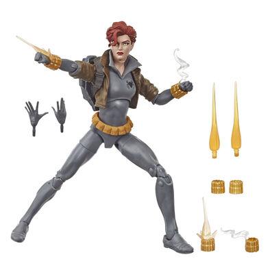 Black Widow Marvel Legends 6In Legends Gray Suit