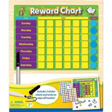 Universe of Imagination Write and Erase Reward Chart