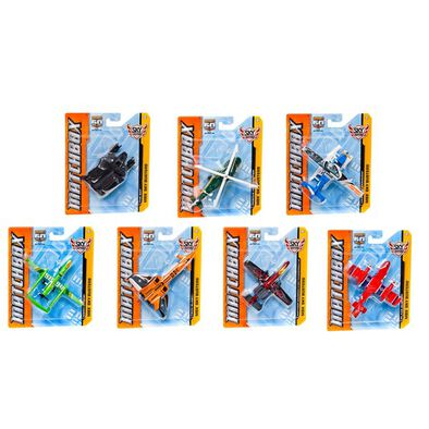 Boys Mb Skybusters Military Planes - Assorted