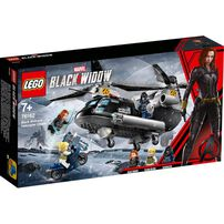 LEGO Marvel Super Heroes Black Widow's Helicopter Chase 76162