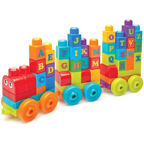 Mega Bloks ABC Alphabet Learning Train