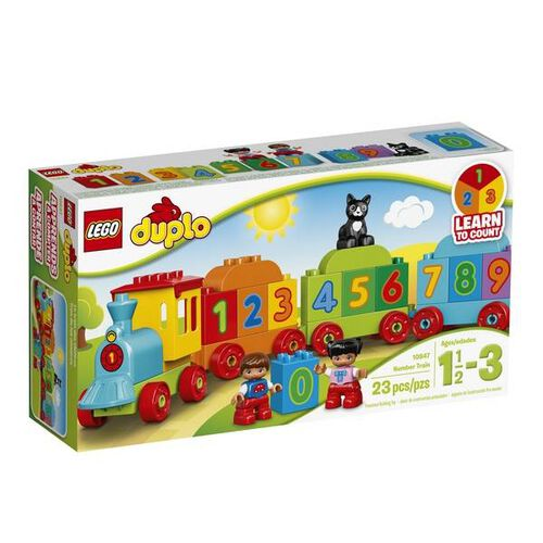 10847 LEGO Duplo My First Number Train 10847