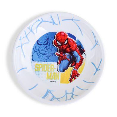 Spiderman Melamine 7.5 Deep Plate - Assorted