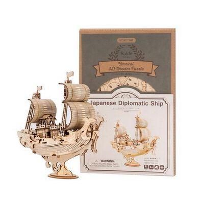 Robotime Japanese Diplomatic Ship