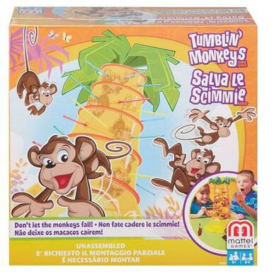 Mattel Games Tumblin' Monkeys