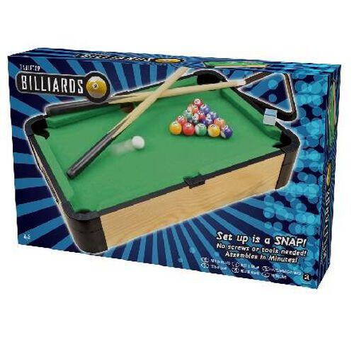 20' Wood Tabletop Billiards