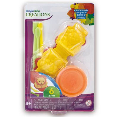 Universe Of Imagination Cute Animal Dough Set