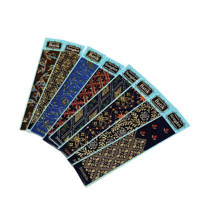 Woven Batik & Songket Bookmarks - Assorted
