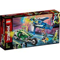 LEGO Ninjago Jay and Lloyd's Velocity Racers 71709
