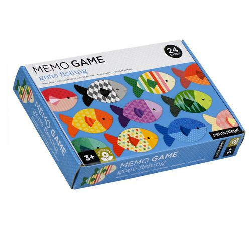 Petit Collage Memory Game Fish