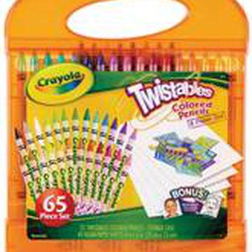 Crayola Twistable Colored Pencil Set