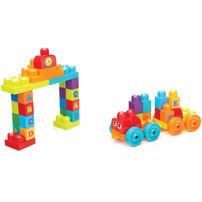 Mega Bloks ABC Alphabet Learning Train