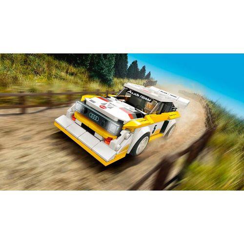 LEGO Speed Champions 1985 Audi Sport quattro S1 76897