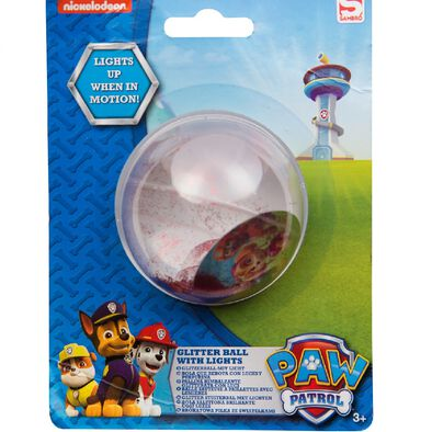 Paw Patrol Glitter Ball With Lights