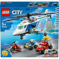 LEGO City Police Helicopter Chase 60243