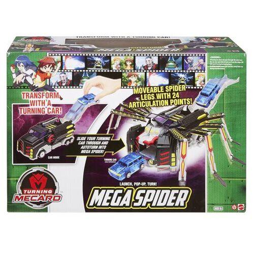 Turning Mecard Mega Spider