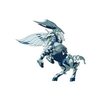 Bakugan Baku-003 BC Ball 5E Pegasus White