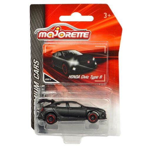 "Majorette Honda Civic Type R Matte Black | Toys""R""Us ..."