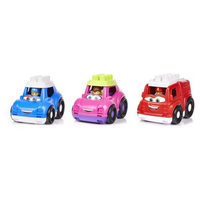 Mega Bloks Lil Vehicles Mixed