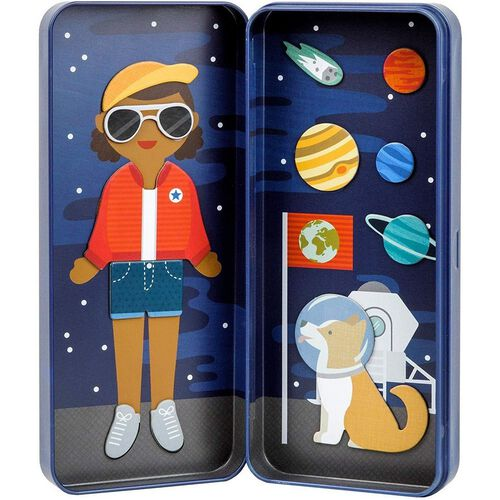 Petit Collage Sb Space Bound Magnetic Dress Up